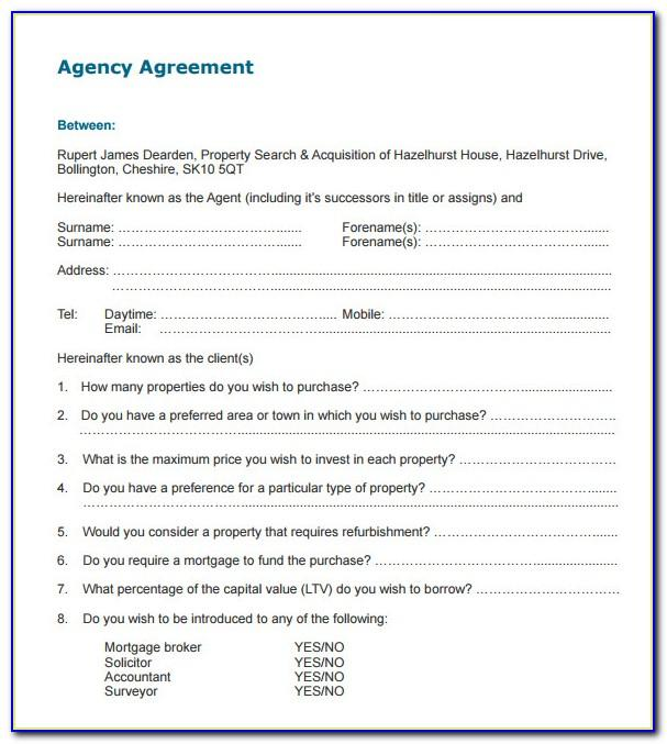 Insurance Broker Fee Agreement Form