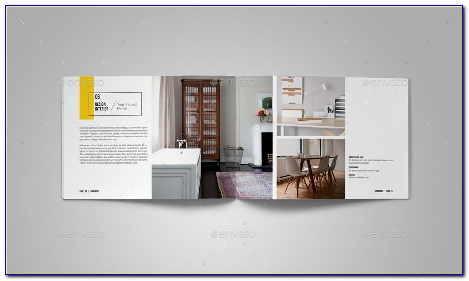 Interior Design Portfolio Layout Templates Free Download