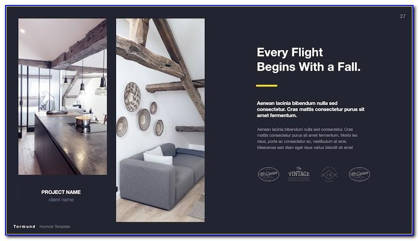 Interior Design Portfolio Templates Free Download