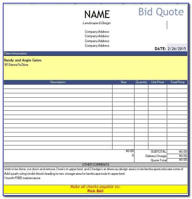 Invoice Template Maker