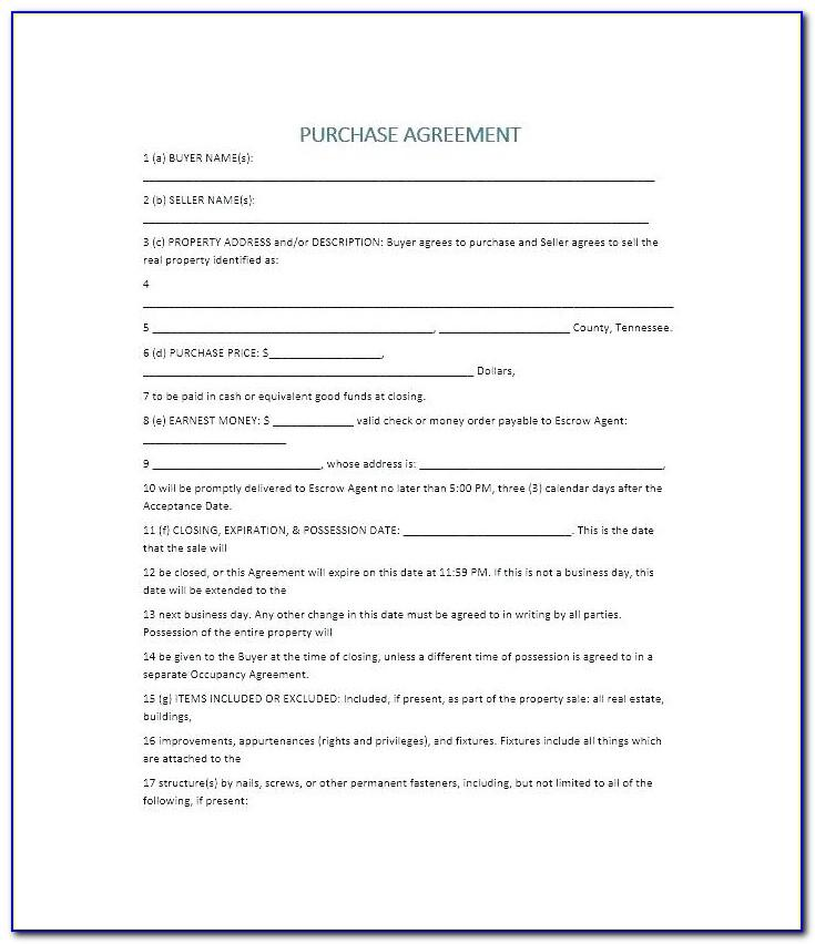 Land Sale Agreement Template Uganda