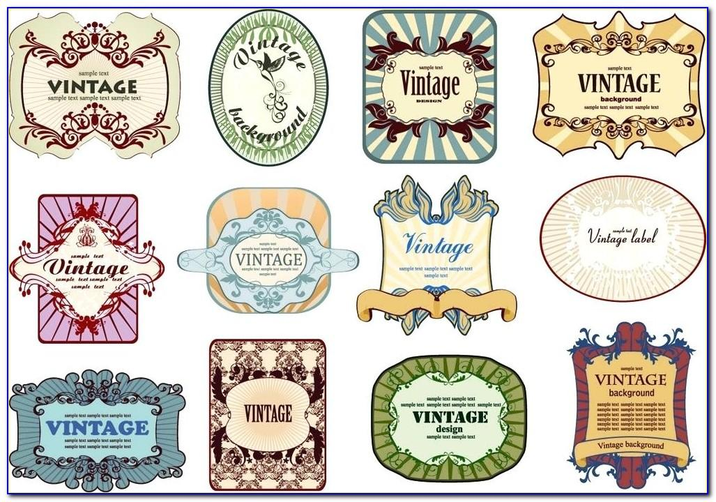 Liquor Bottle Labels Template