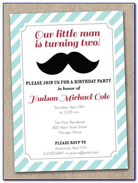 Mens Birthday Invitation Templates