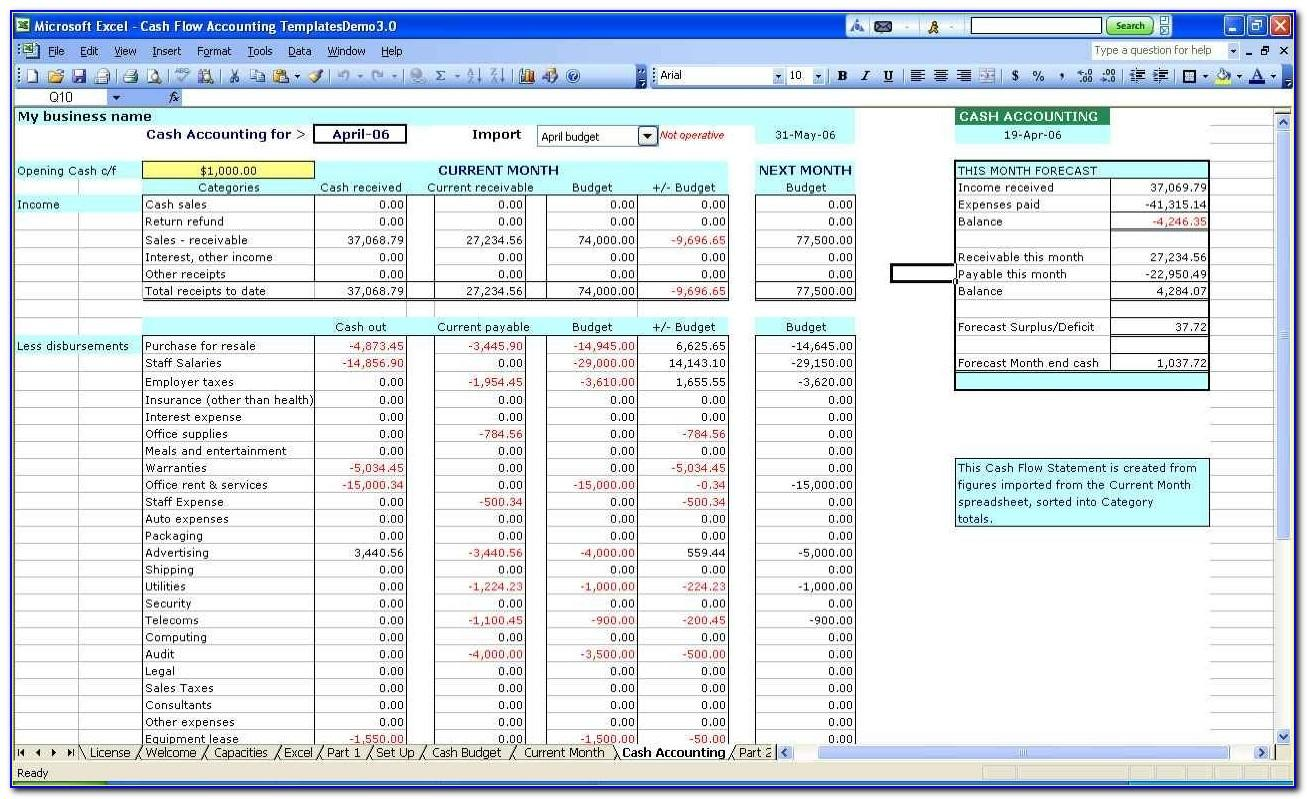 Microsoft Project Management Excel Template