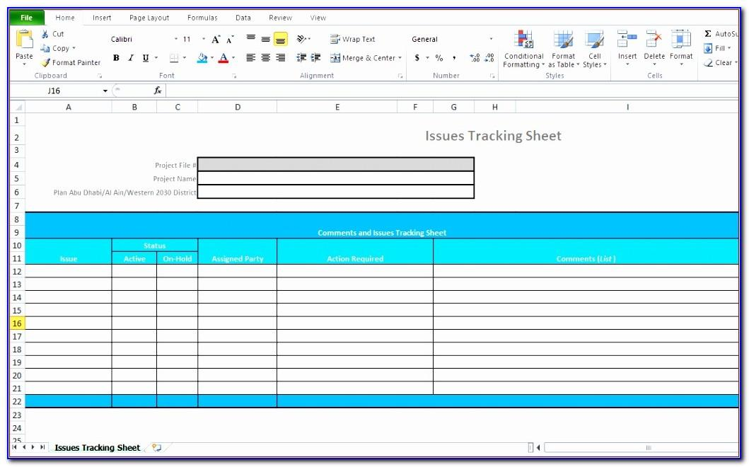 Microsoft Project Plan Excel Template