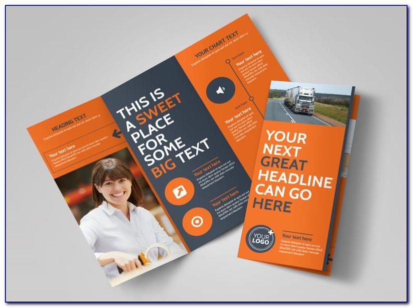 Moving Company Brochure Template