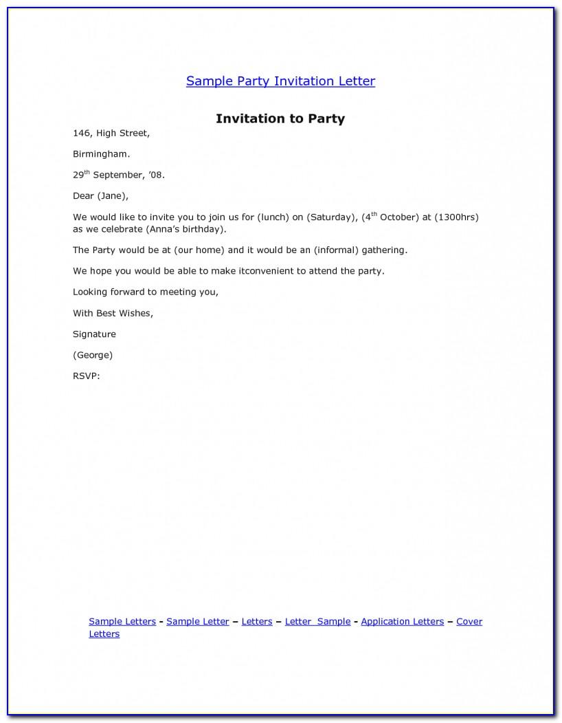 Office Lunch Invitation Email Template