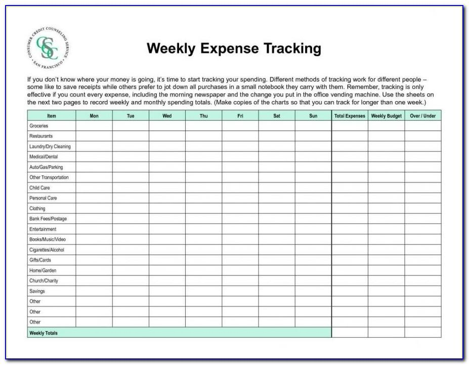 Personal Finance Planner Excel Template