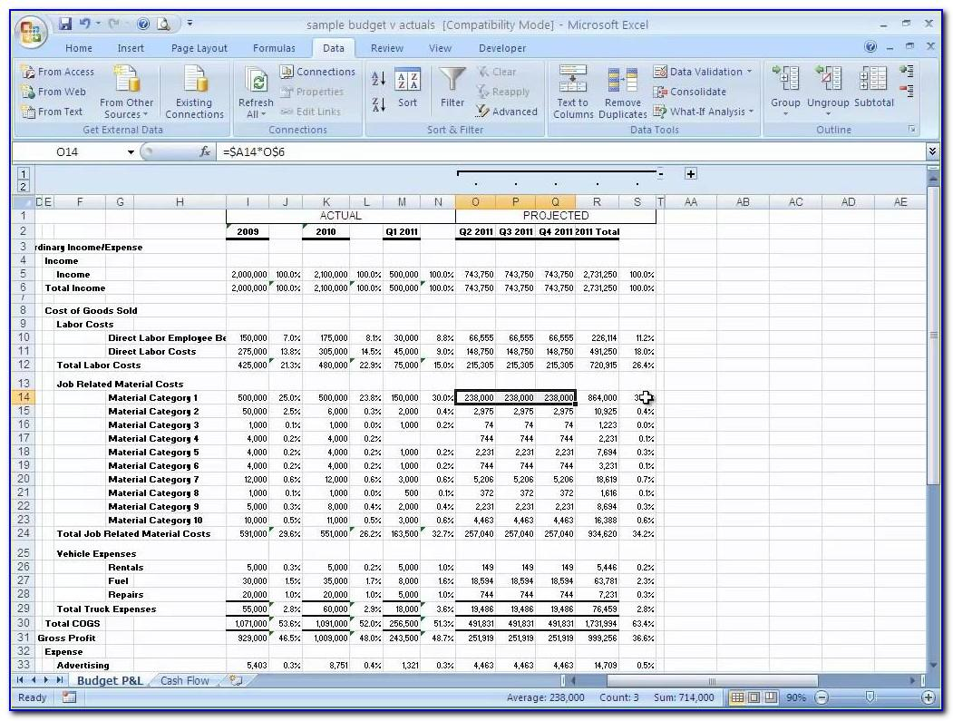Personal Financial Planning Template Excel