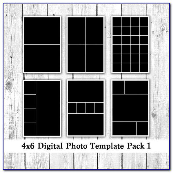 Photo Collage 4x6 Templates