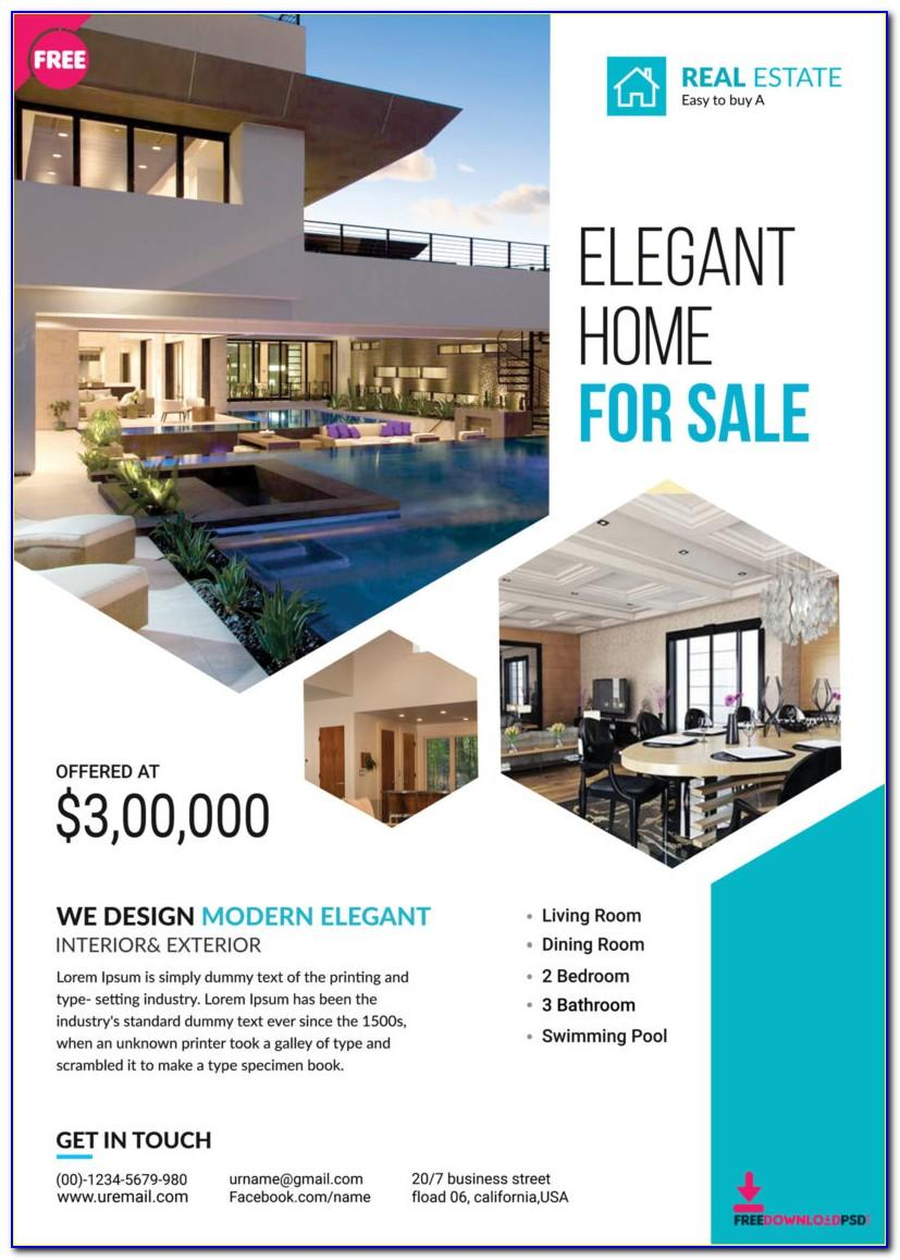 Real Estate Flyer Template Pdf