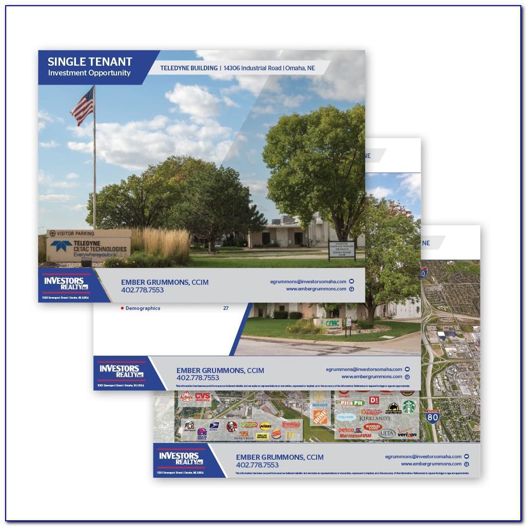 Real Estate Offering Memorandum Powerpoint Template