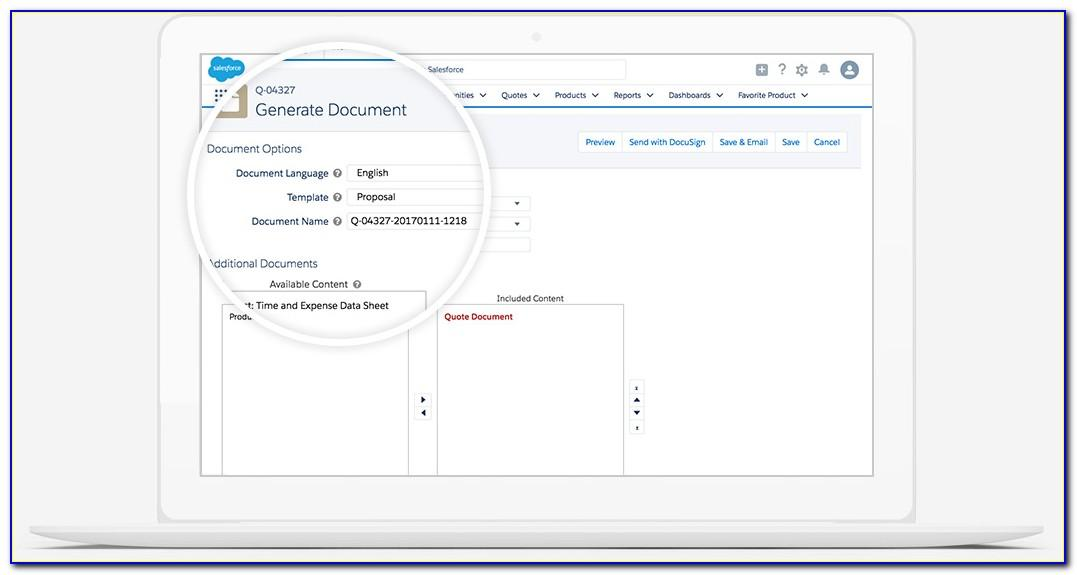 Salesforce Implementation Proposal Template