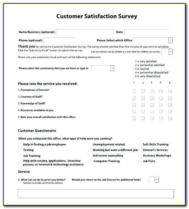 Sample Size For Customer Satisfaction Survey