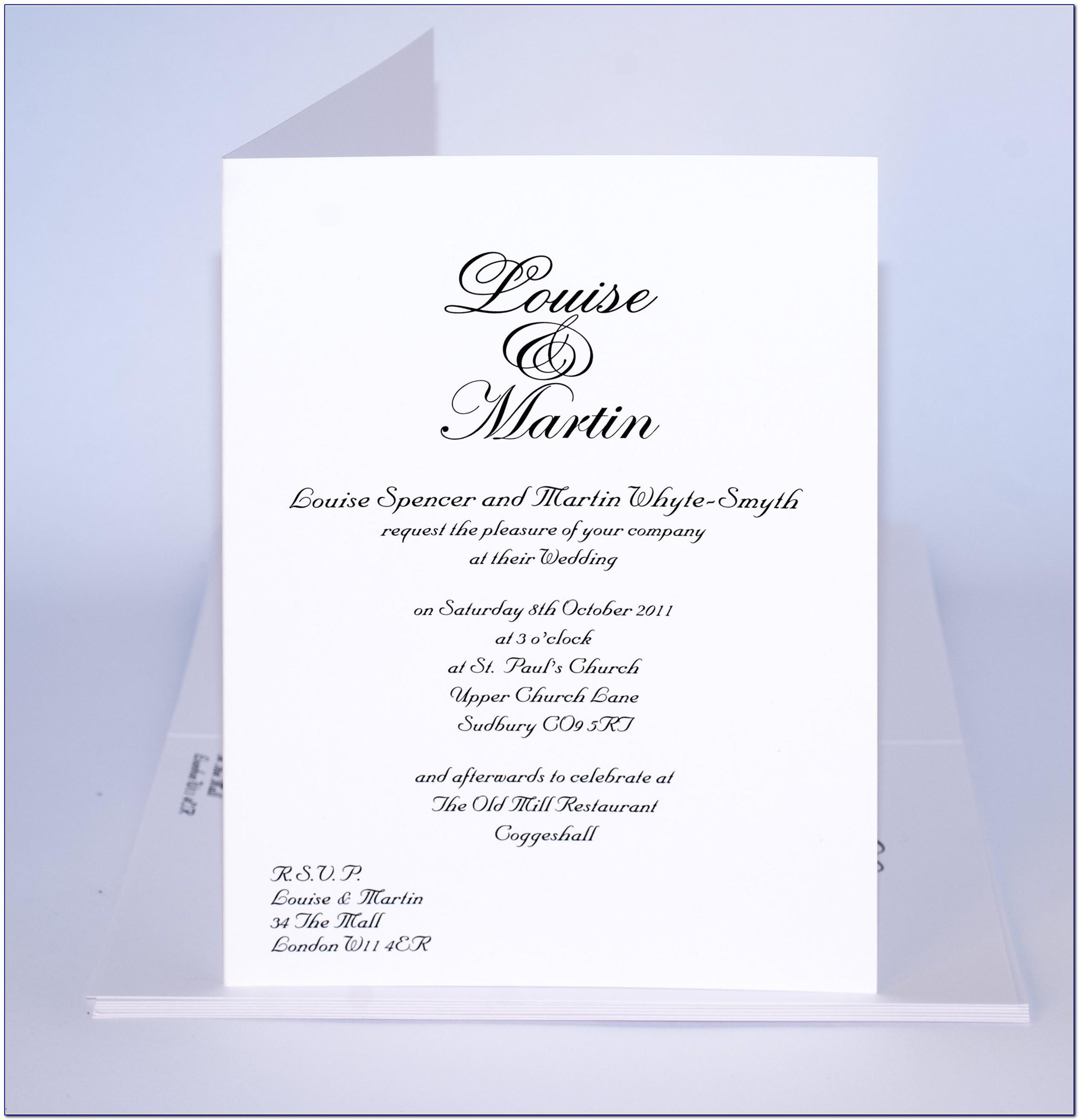 Sample Wedding Invitation Designs Philippines