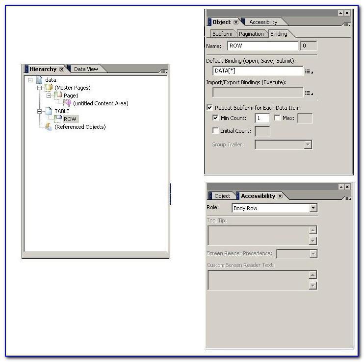 Sap Adobe Forms Templates