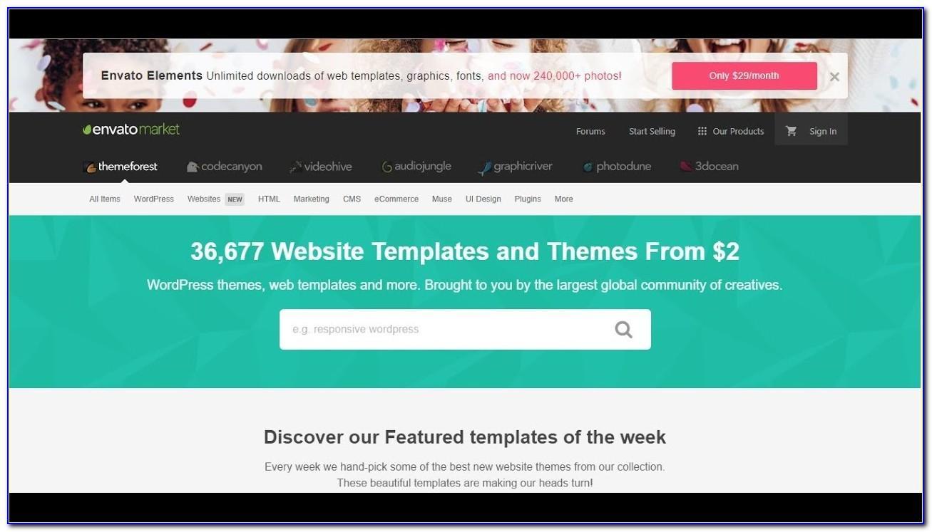 School Website Templates Free Download Themeforest