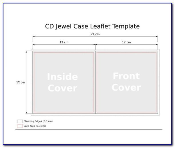 Slim Jewel Case Template