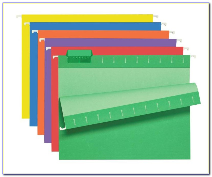 Staples Hanging Folder Tabs Template Word