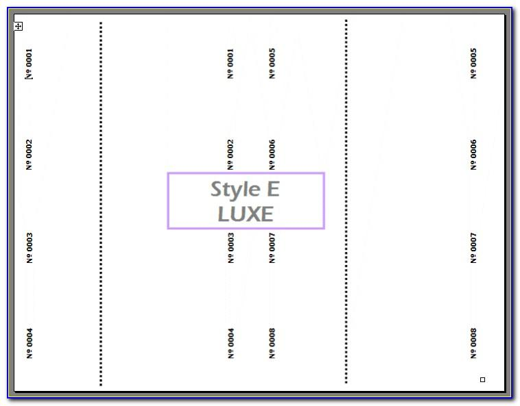 Staples Ticket Printing Template (2)