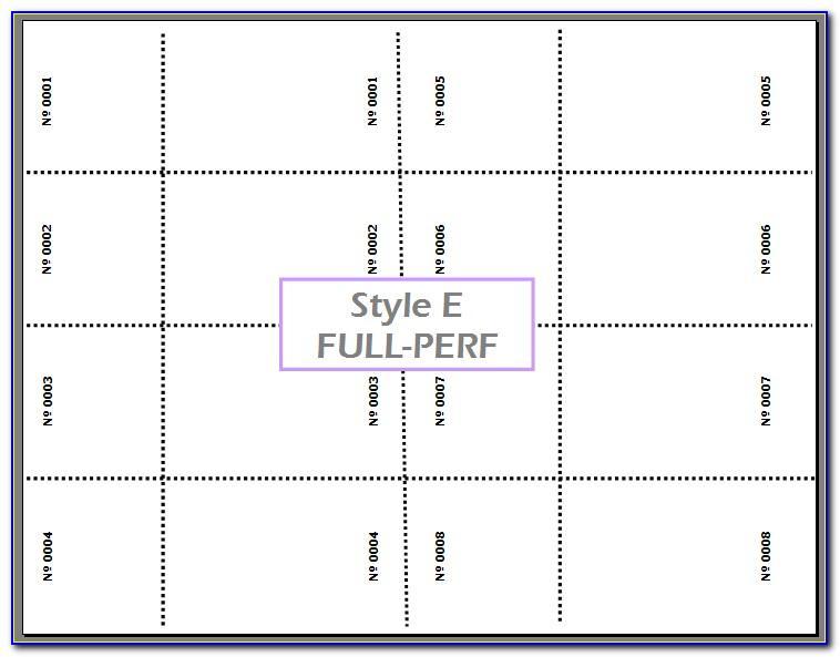Staples Ticket Printing Template (3)