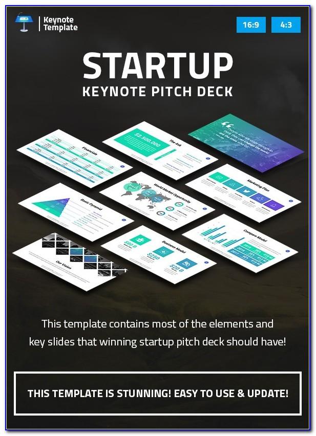 Startup Pitch Deck Template Keynote