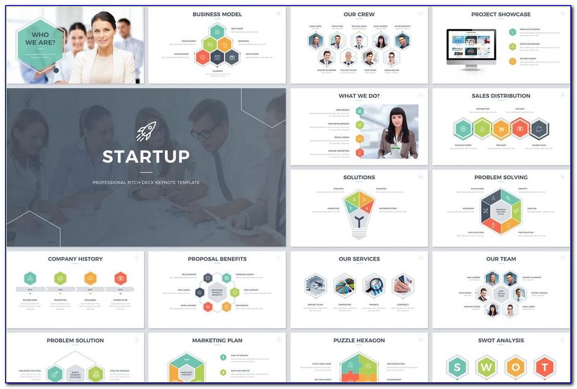 Startup Pitch Keynote Template