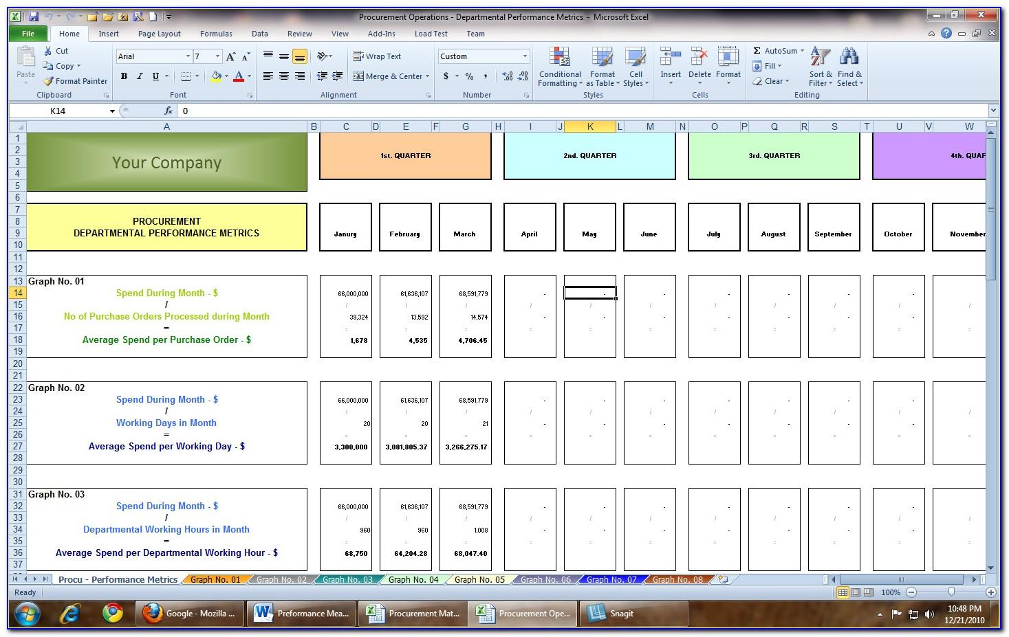 Supply Chain Assessment Example