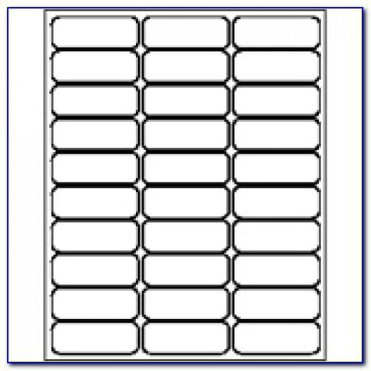 Template For Avery Label 5163