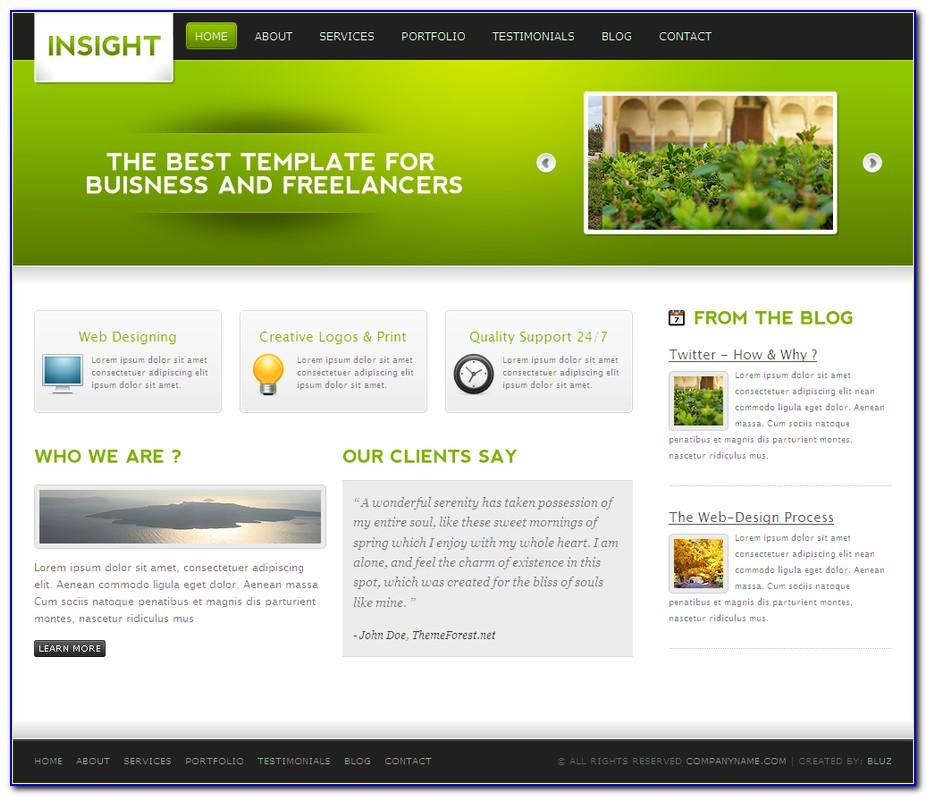 Themeforest Website Template Free Download