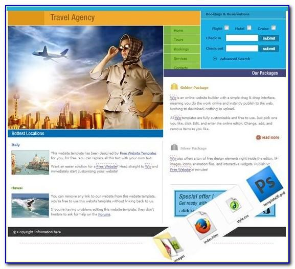 Tours And Travels Website Templates Free Download