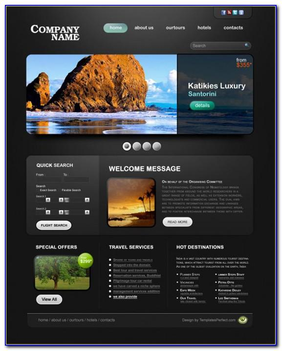 Tours And Travels Website Templates Free