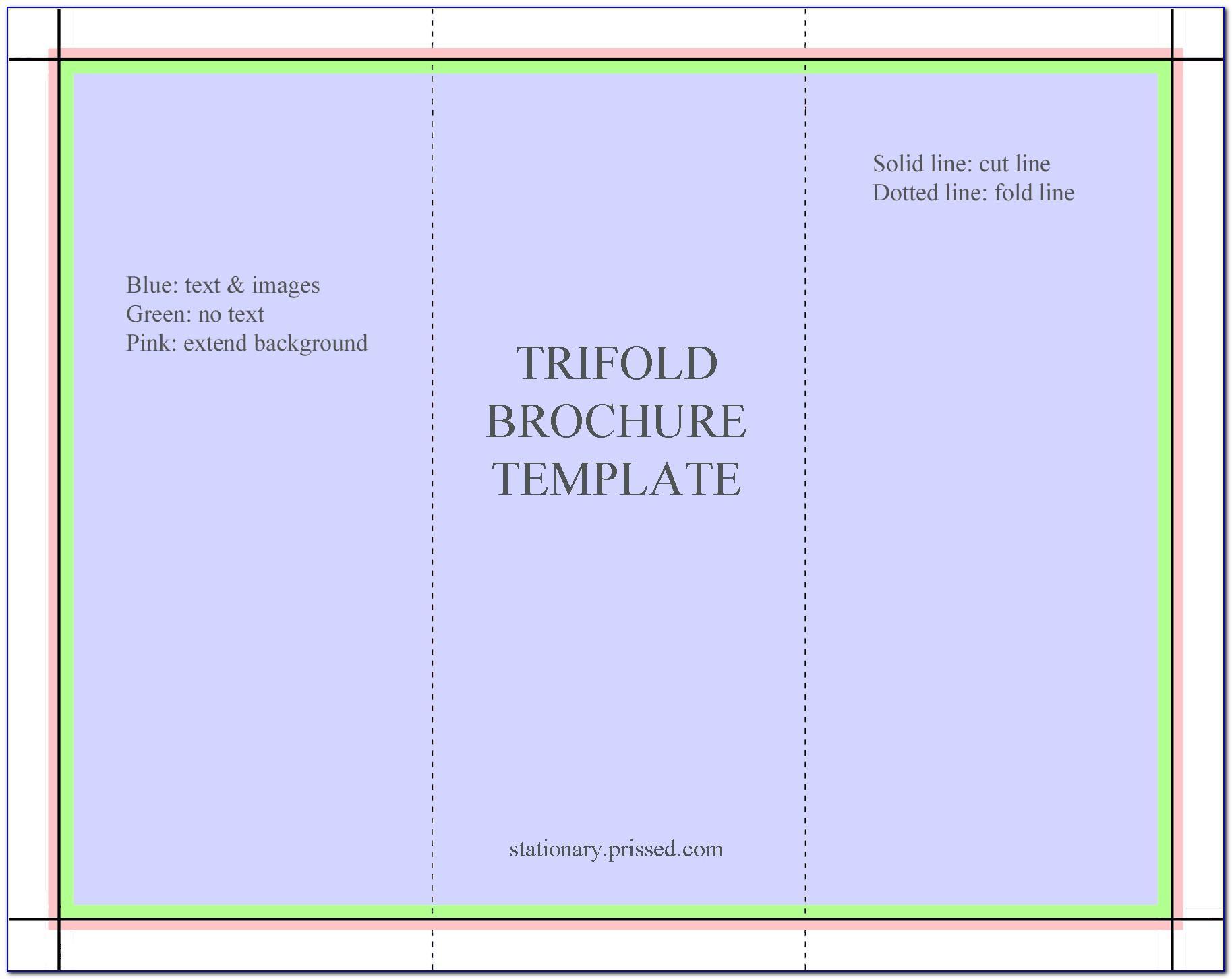 Tri Fold Brochure Templates Free