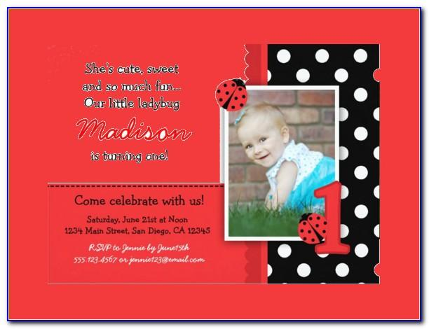 Twins First Birthday Invitation Templates Free Download