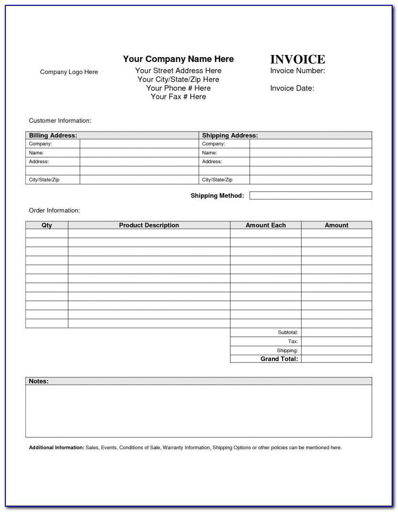 Vehicle Sales Receipt Template Word