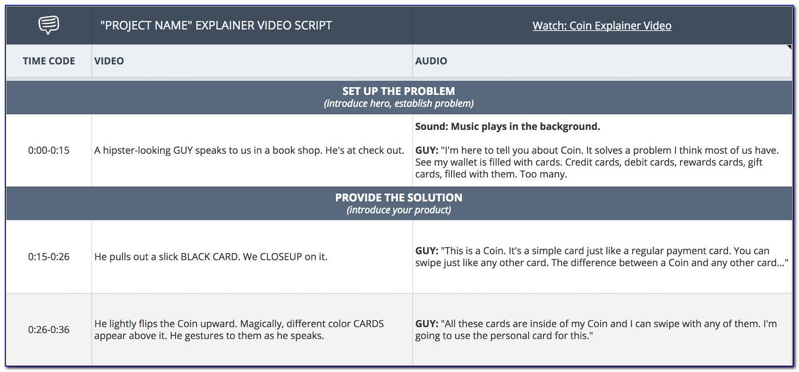 Video Explainer Templates
