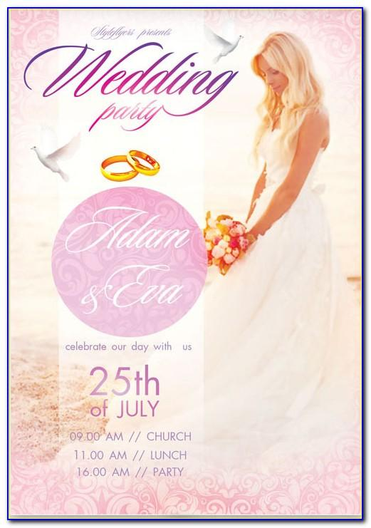 Wedding Invitation Card Design Template Free Download Psd