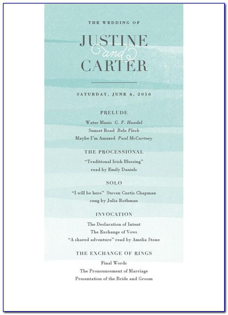 Wedding Invitation Format Free Download