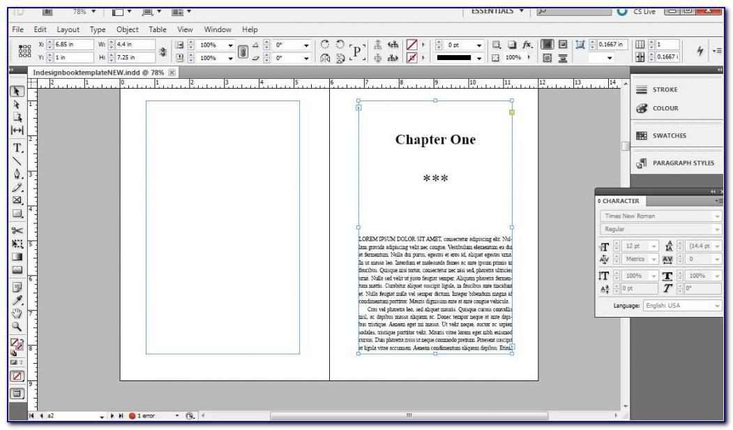 Workshop Workbook Template Indesign