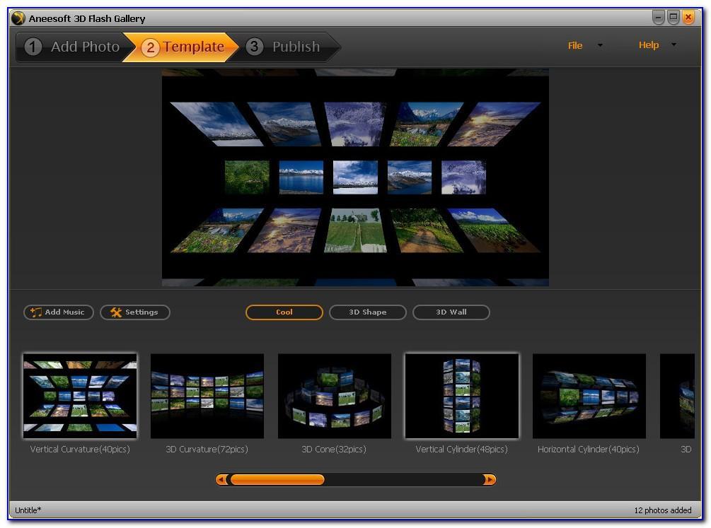 3d Flash Website Templates Free Download