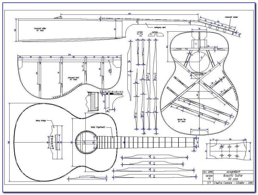 Acoustic Guitar Templates Free