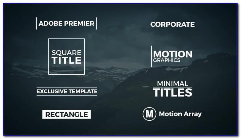 Adobe Premiere Wedding Invitation Templates Free Download