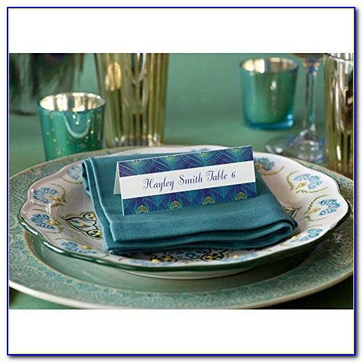 Avery Place Card Template 12 Per Sheet