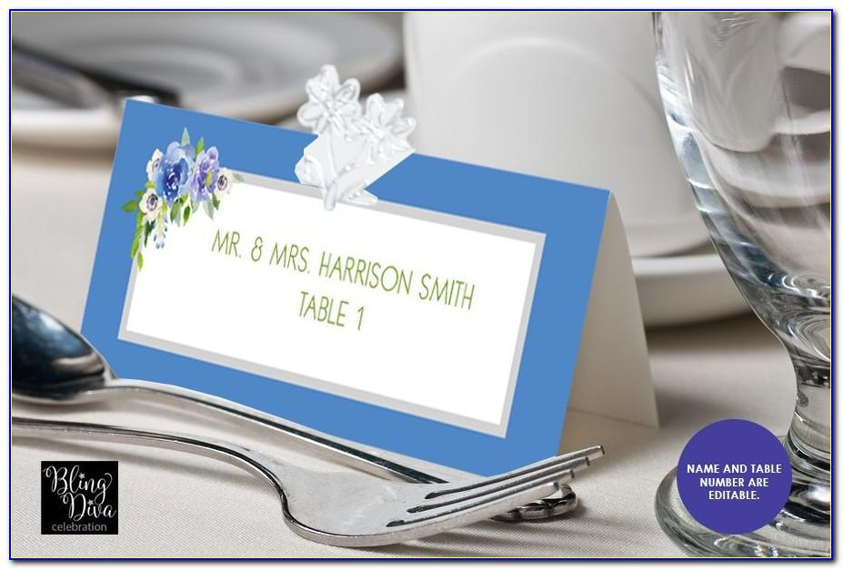 Avery Place Card Template Word