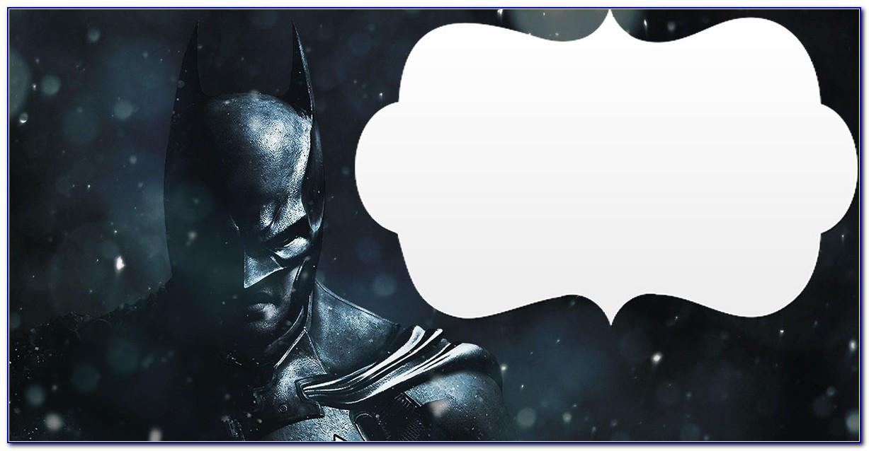 Batman Birthday Invitations Templates Free