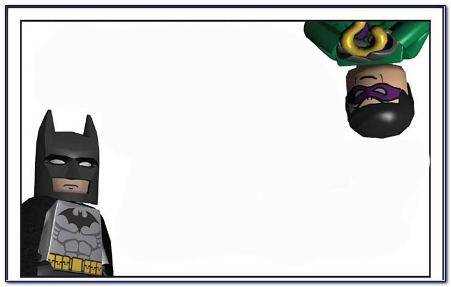 Batman Invitation Maker