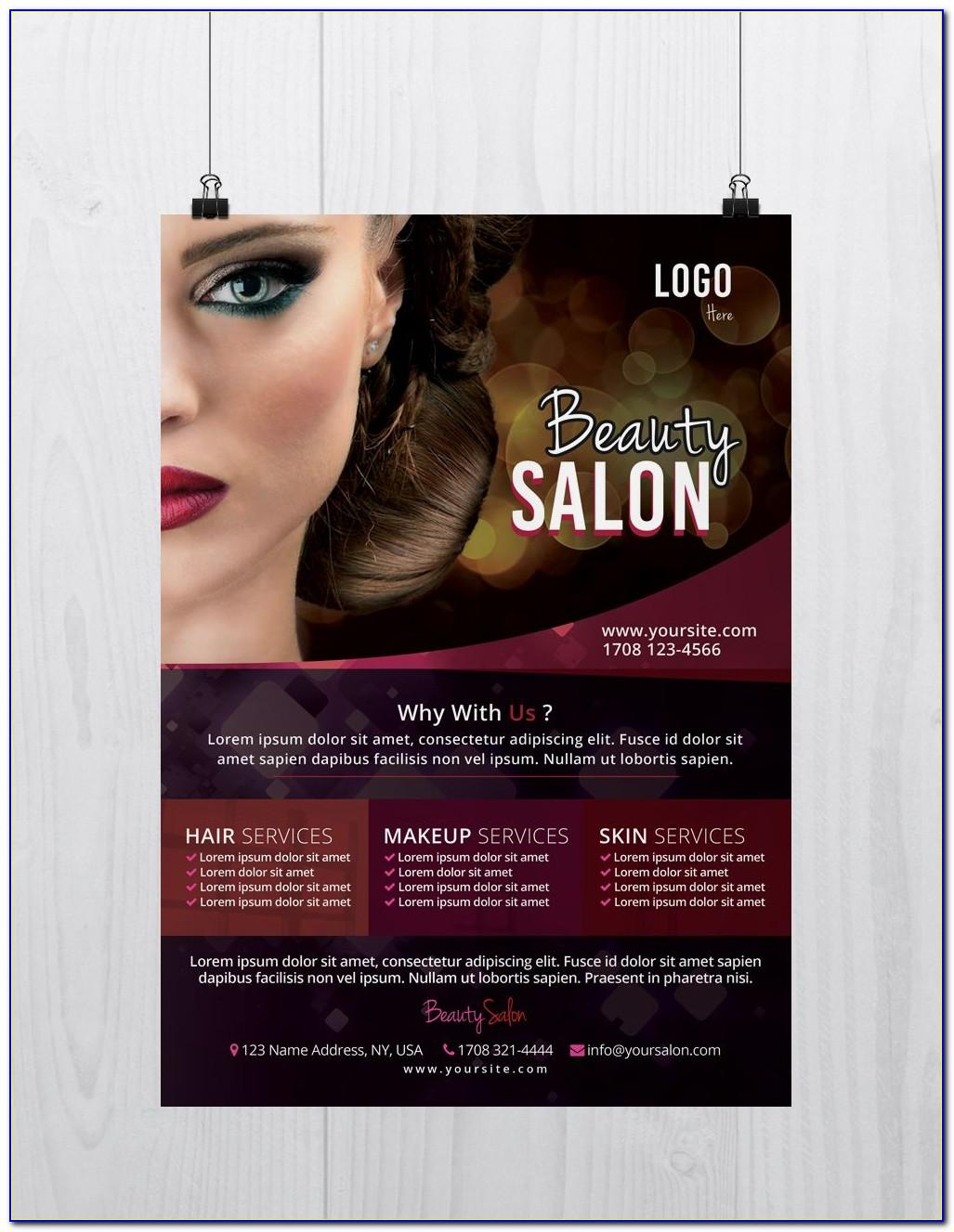 Beauty Flyer Templates Free Download