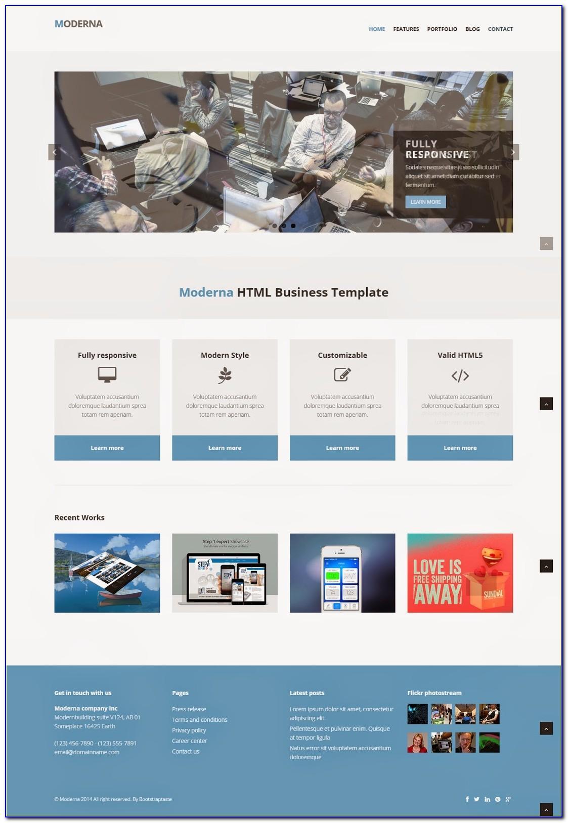 Best Responsive Websites Templates Free Download
