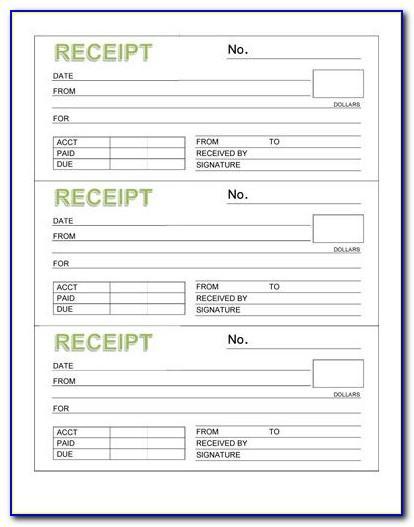 Blank Recipe Book Template Download