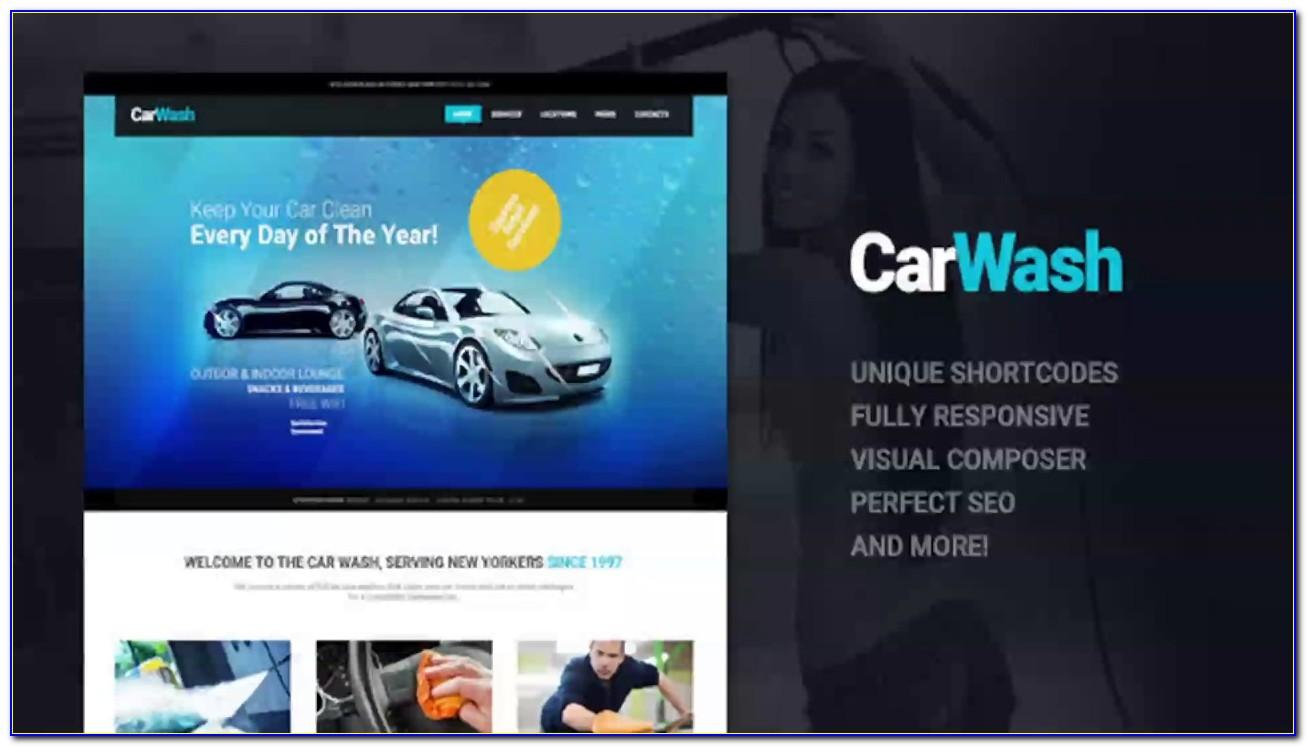 Car Detailing Web Templates